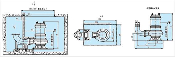 JPWQ为带不锈钢外套的自动搅匀排污泵。如特殊要求也可以定做整体不锈钢的不锈钢自动搅匀排污泵。 JPWQ系列自动搅匀排污泵是在普通型排污泵的基础上采用自动搅拌装置,该装置随电机轴旋转,产生极强的搅拌力,将污水池内的沉积物搅拌成悬浮物,吸入泵内排出,提高了泵的防堵、排污能力,一次性完成了排水、清污、除淤,节约了运行成本,是具有明显的先进性和实用性的环保产品。 JPWQ型不锈钢自动搅匀排污泵产品特点: 1、JPWQ不锈钢自动搅匀泵采用大流道抗堵塞水力部件设计的单流道或双流道封闭式叶轮结构,大大提高了污物通过能